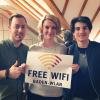 Freies WLAN: Jusos begrüßen ersten Hotspot